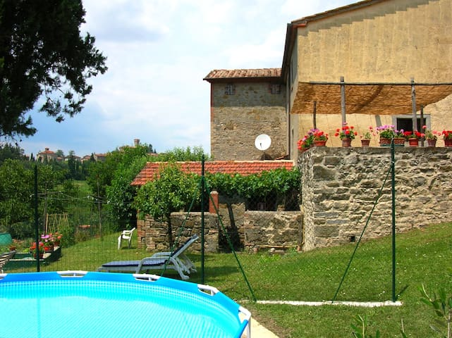Casa Tersalle - welcoming farmhouse (5-8 pers) - Lippiano - Casa