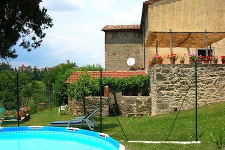 Casa Tersalle Farmhouse (5-8 pers) - Lippiano - บ้าน