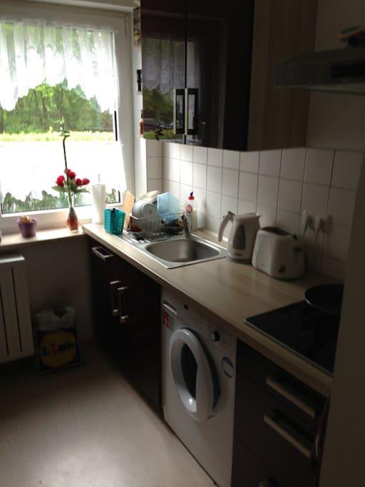 Küche kann benutzt werden!
