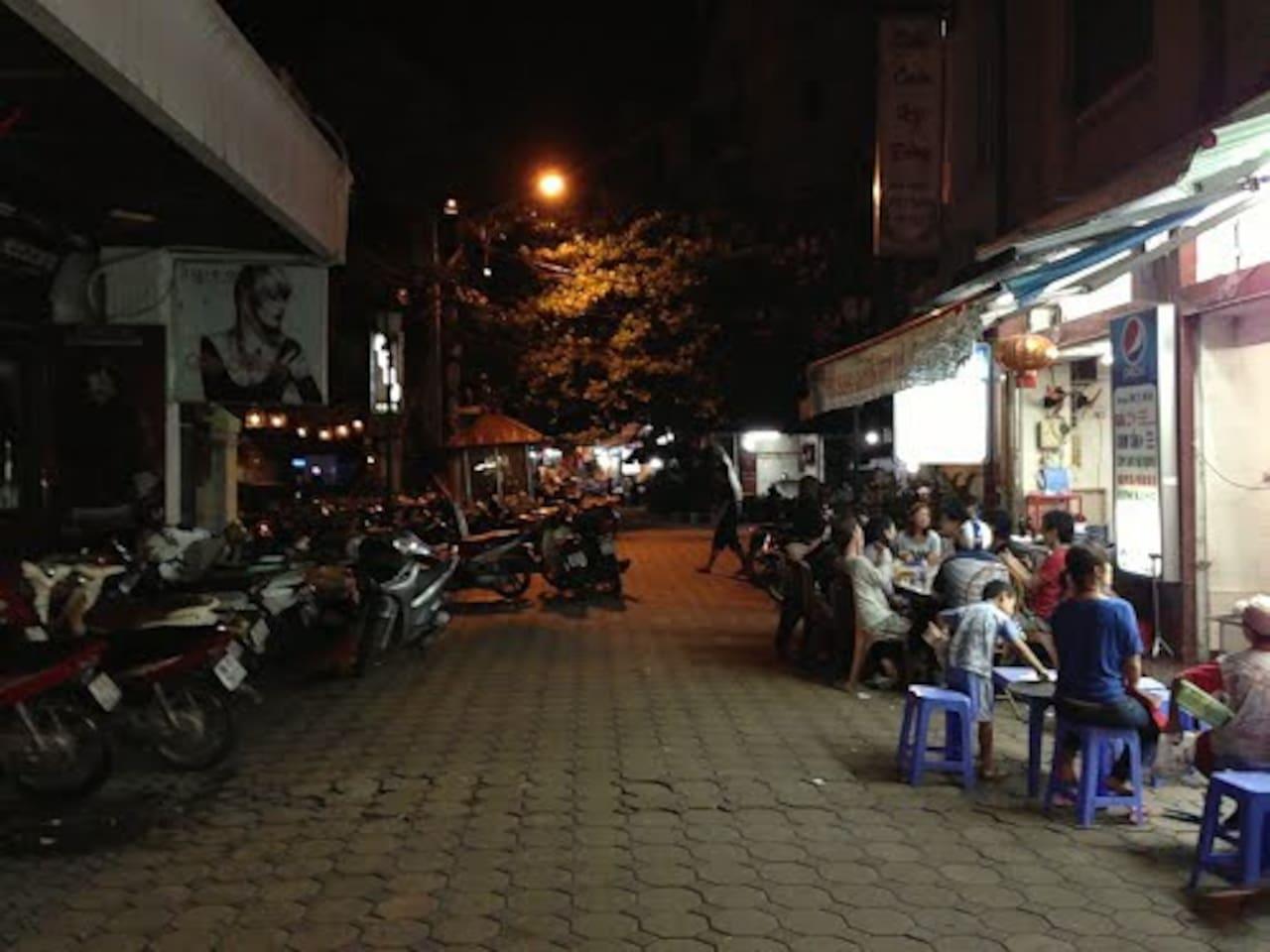 Single room on the food street
