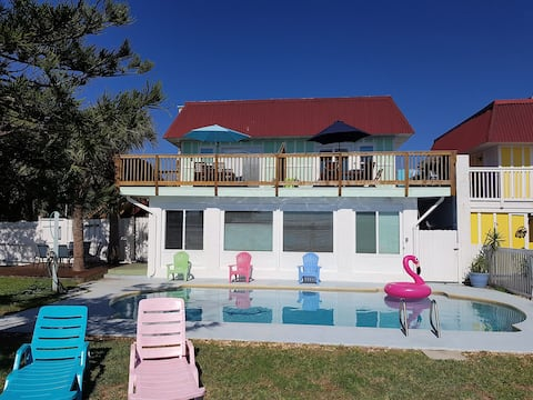 Direct Riverfront*Shared Pool*200m to Beach(201)