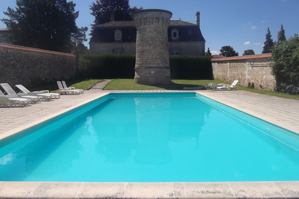 Shared 15 metre swimming pool