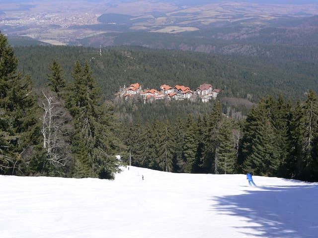 Ski in / ski out apartment in Borovets
