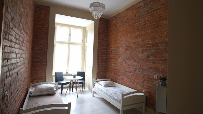 Perfect Priv Brickwall Room TV WiFi - Wroclaw - Lägenhet