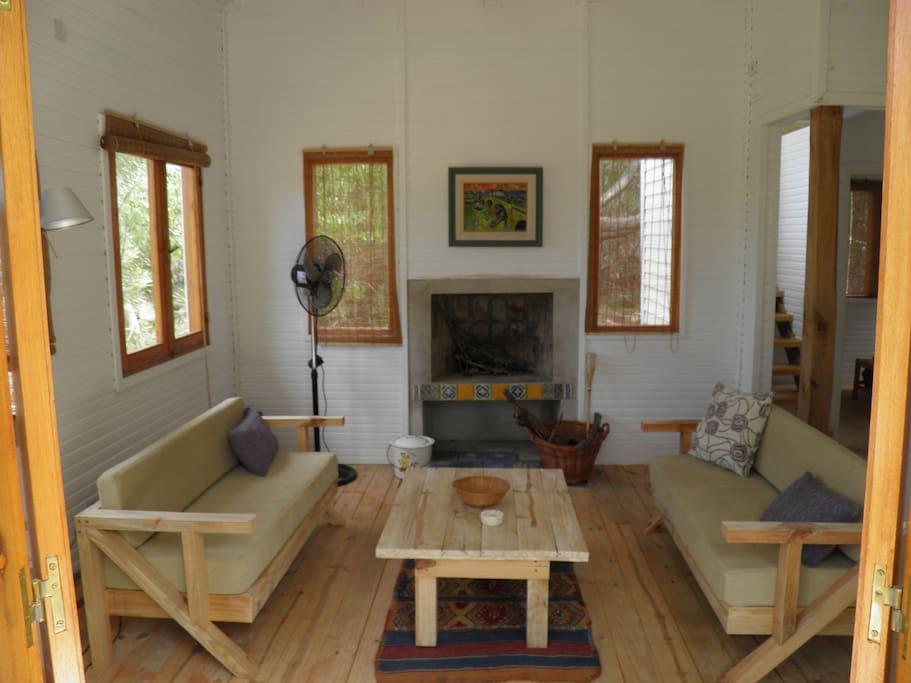 Las Calas Living, hogar a leña