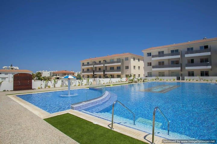 New Apartment at Mythical Sands Resort - Paralimni - Departamento