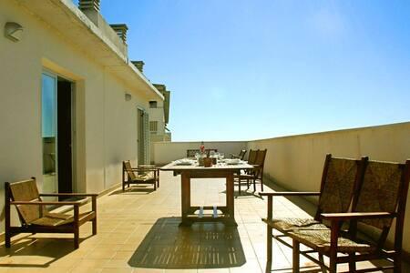 Penthouse apartment with open view terraces - Palma de Mallorca - Departamento