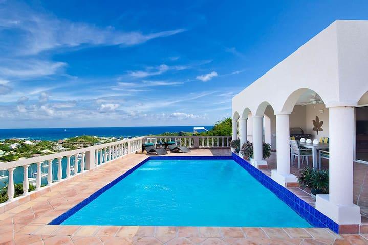 Villa Arcadia - Oyster Pond, Sint Maarten - Upper Prince's Quarter - Villa