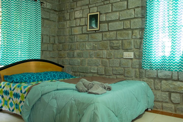 Don't worry! we have one more well furnished bedroom with attached bath on the first floor
