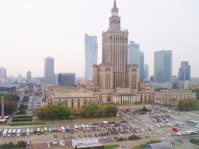 Extra view 16th floor - Chmielna 35