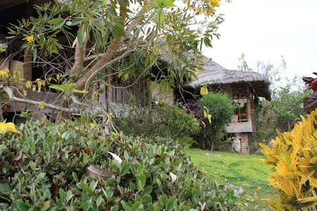 Oceanview Eco cabin in Ayangue - Ayangue - Chalet