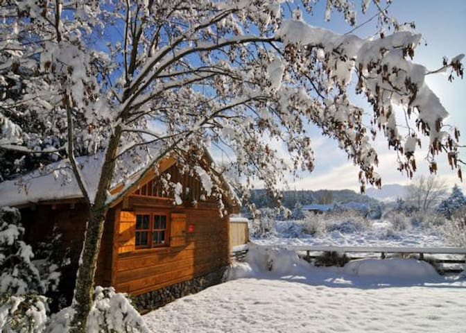 Gorgeous Log Cabin w Mountain Views - Ohakune