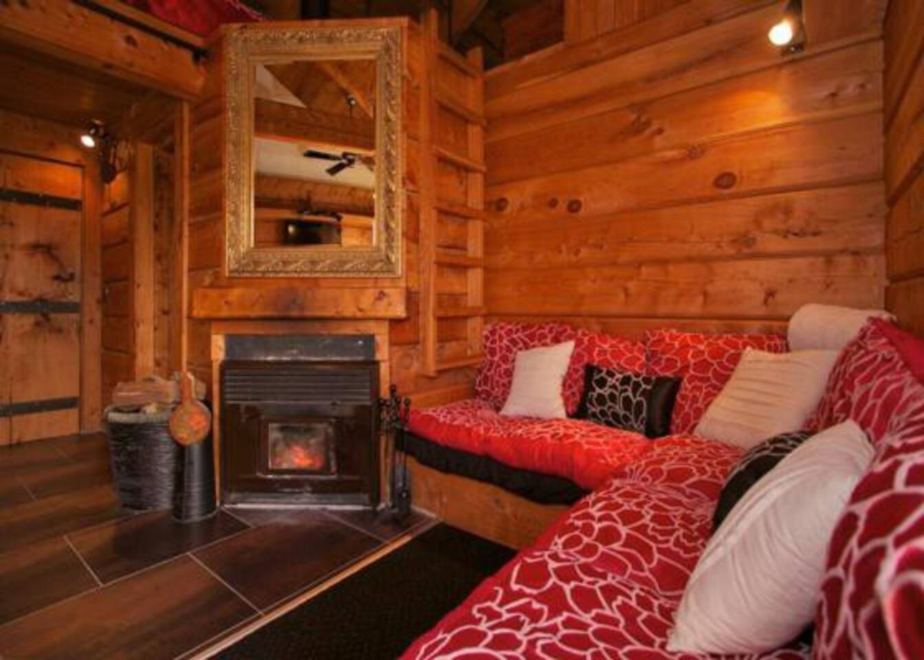 gorgeous log cabin w mountain views cottages for rent in ohakune