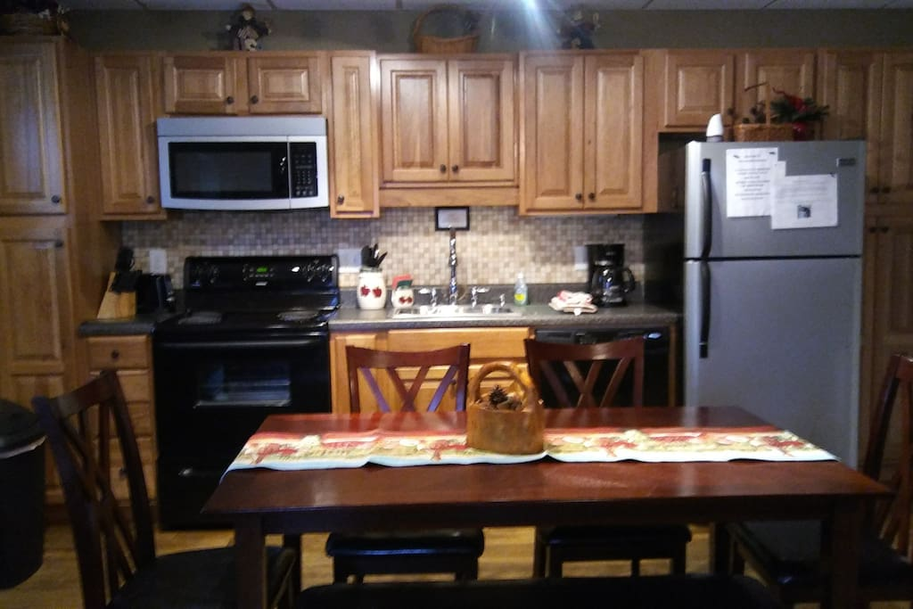 KITCHEN DINING AREA FRONT VIEW