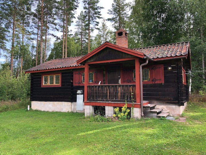 Own cottage close to nature and central Leksand