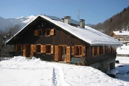 Ski/Morzine/altes Bauernhaus - Montriond - Dom