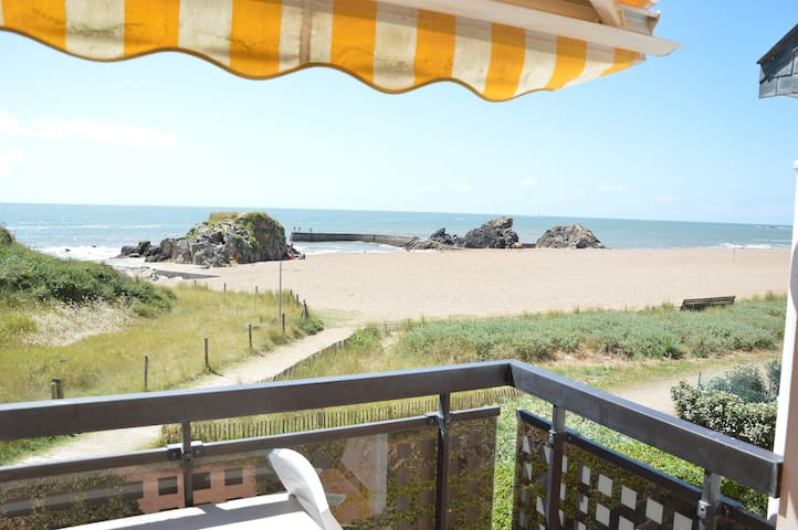 Full sea view, direct beach access - Pornichet - Daire