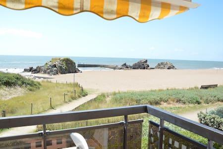 Full sea view, direct beach access - Pornichet - Apartemen