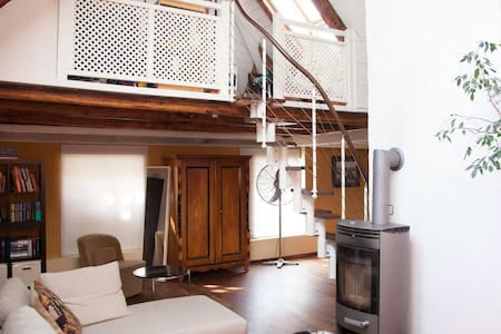 Schärding: Loft-Apartment nahe Passau + Terrasse