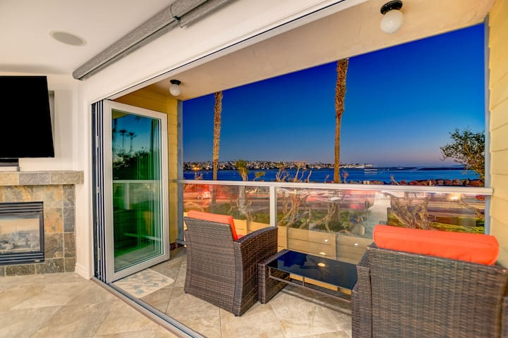 Beachfront-Ocean views!-Luxury AC Home on Sand!