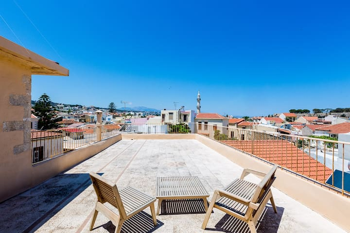 Family Suite With Private Terrace - Rethymno - House