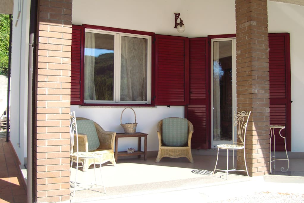 Corner of the Outside Patio