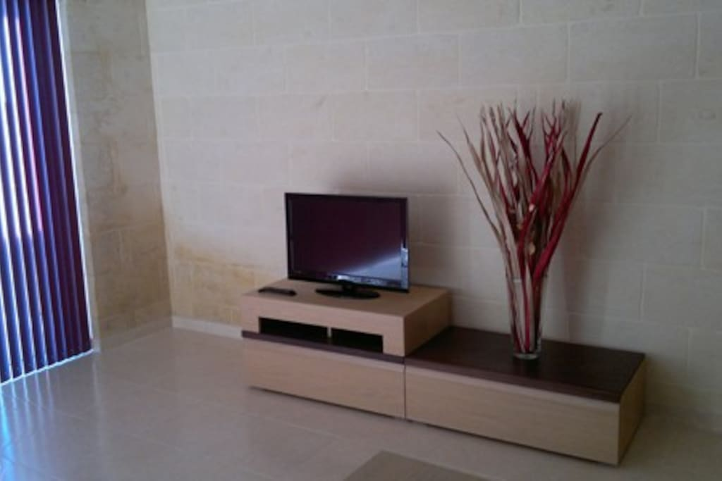 LED TV with Cable