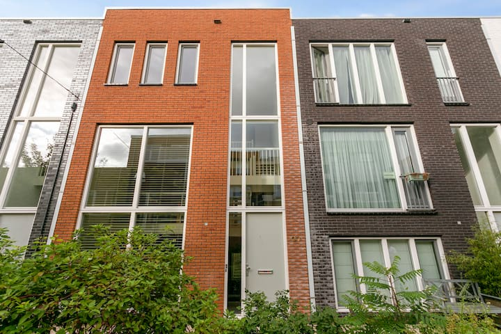 Postmodern house near the centre of Leiden