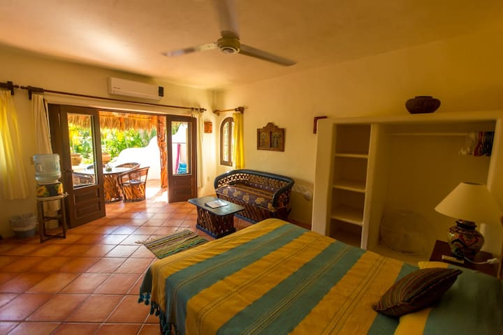Casita #5 is your own private 600 sq. ft. apartment.