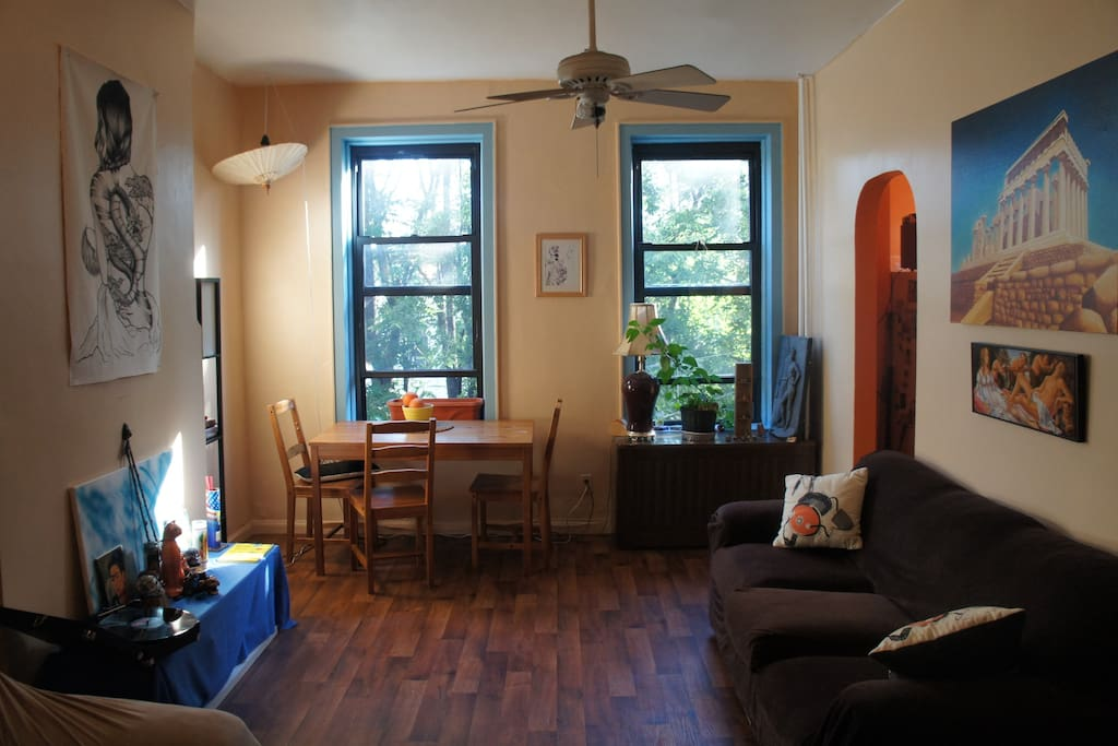 Master Bedroom In A Bk Brownstone Flats For Rent In Brooklyn New York United States