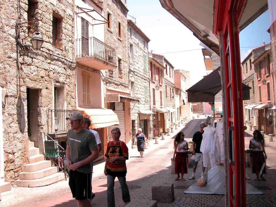 La rue de la Citadelle