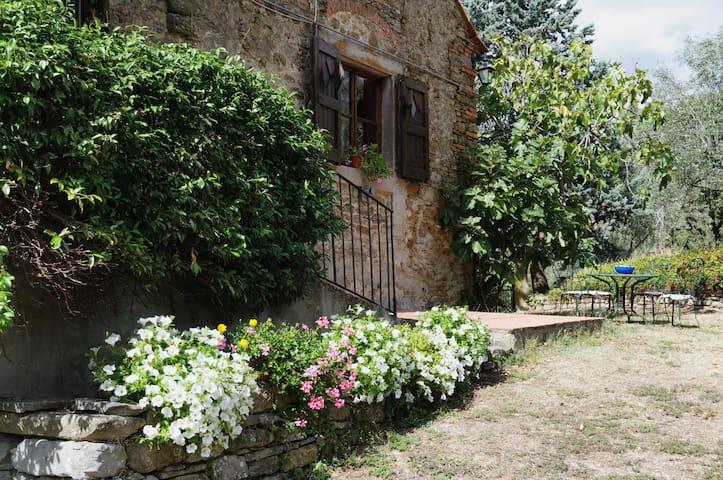 """""""La Badiola"""" stone villa - Castiglion Fiorentino - Villa"""