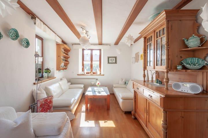 Wohnung in idyllischem Dörfchen