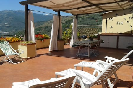 House with terrace 80 sqm - Civezza - Dom