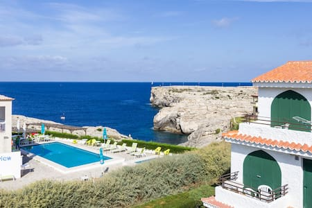 Apartment sea view + swimming pool - Menorca