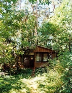 natur pur mitten in Wald - Falkensee - 小屋
