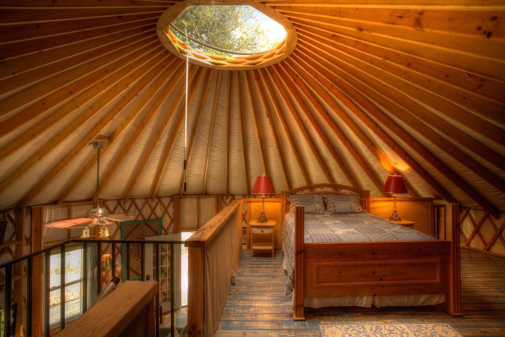 Sleeping Loft - Queen Size Bed