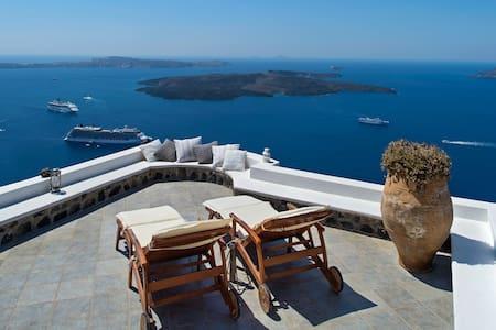 Miamo - Amazing view in Imerovigli - Imerovigli - 独立屋