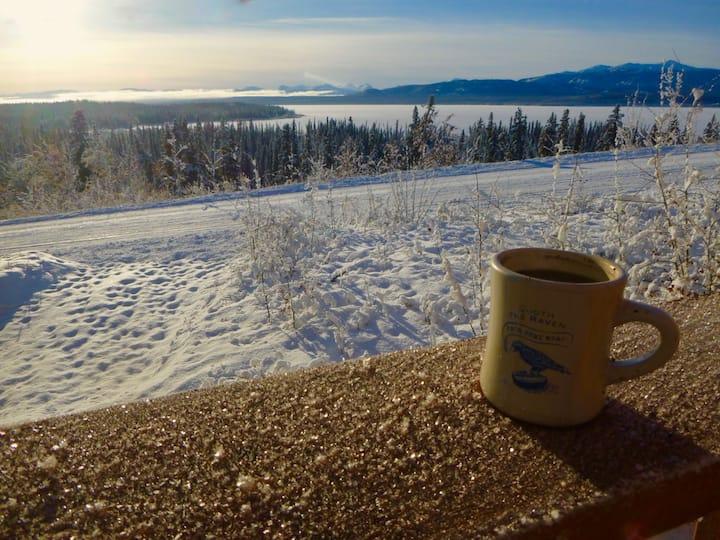 Lake View Cabin, Marsh Lake, Yukon, Canada