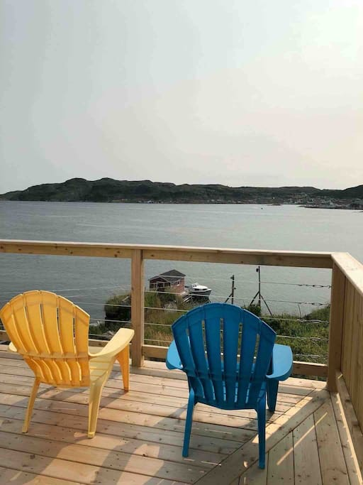 Relax on our brand new deck! See you next year!