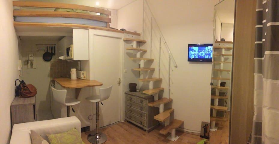 Studio proche Montmartre - Paris - Apartment