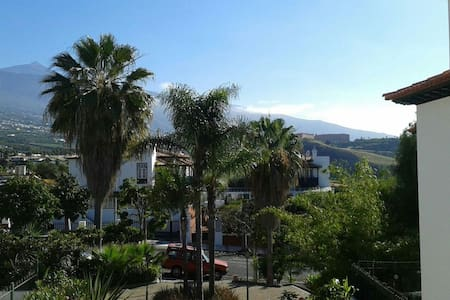 Apt. with views, gardens & pool - Puerto de la Cruz