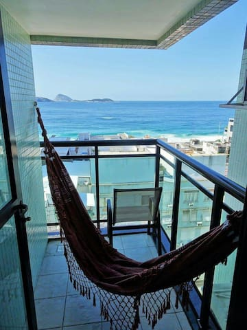 Ipanema Beach Apt (Ocean View) - Rio