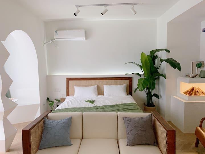 【Dream house】馥芮白Flat white/极米巨幕投影/南湖/华商/爱情海/万达广场