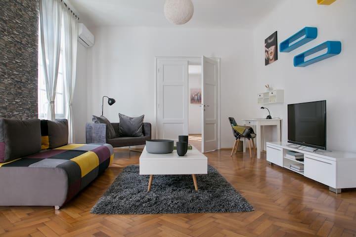 spacious modern apartment in the center - Zagreb - Apartamento