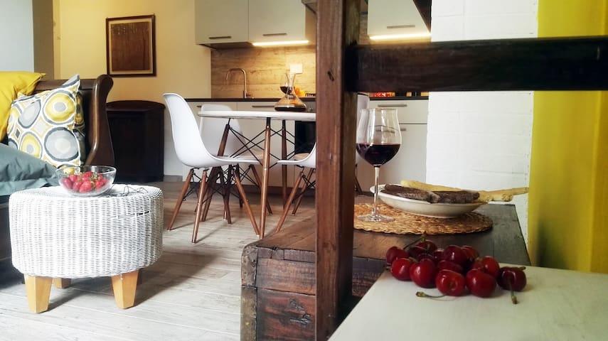 Living & angolo cucina