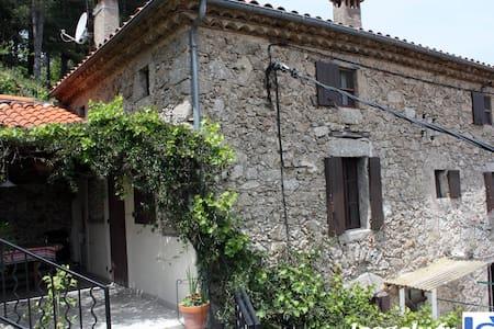 maison au coeur des cevennes avec sa vue dominante - Saint-André-de-Majencoules
