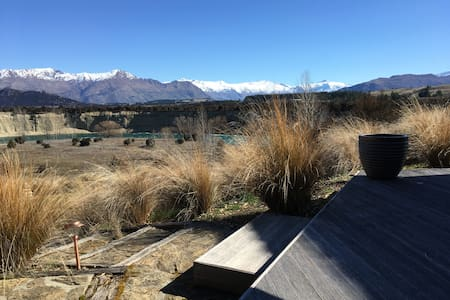 Wanaka Horseshoe River House - Dom
