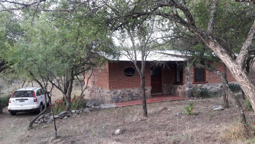 Casa de montaña Las Yucas. Traslasierras .