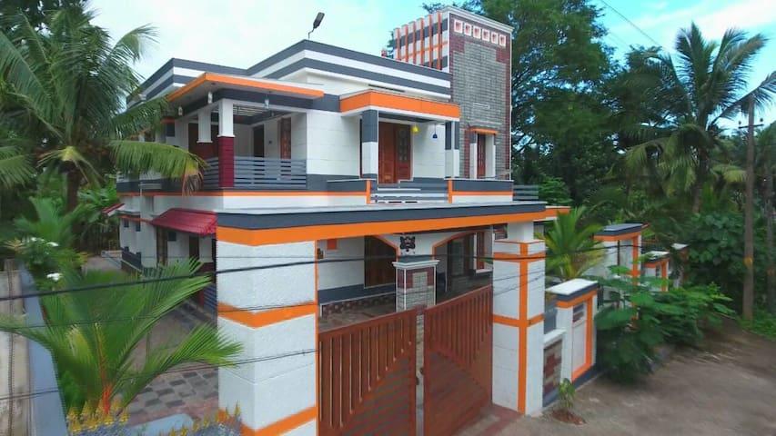 Enite Ground & First Floor in Kerala
